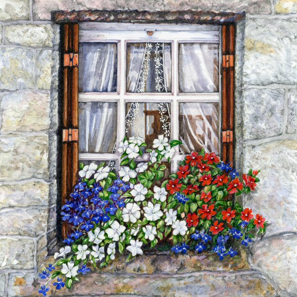 Brittany Window 1