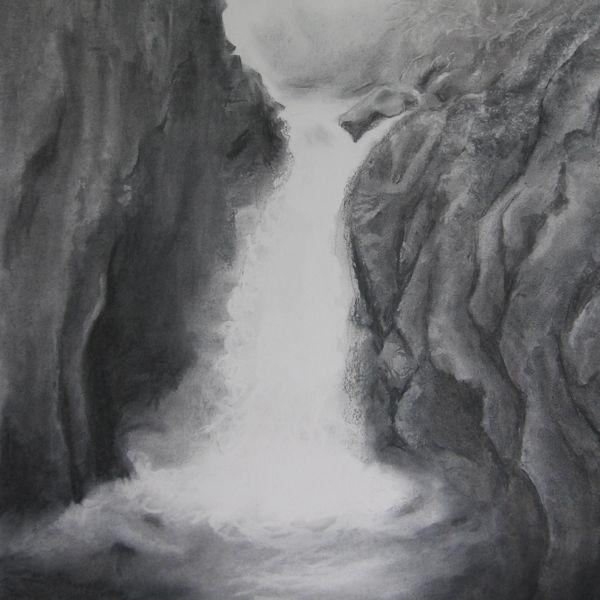 By the Pecca Falls near Ingleton