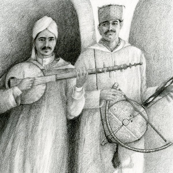 Street Musicians, Taroudannt