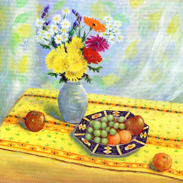 Still Life in Yellow