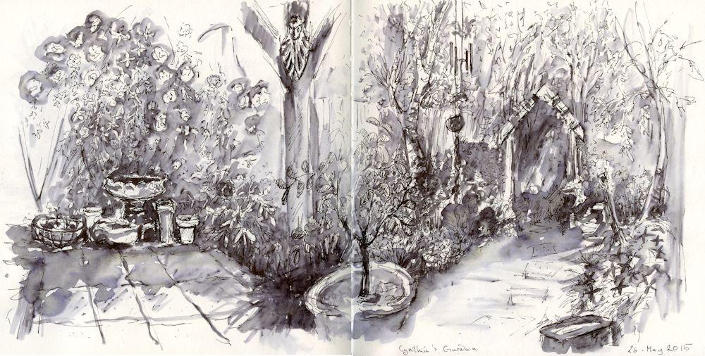 2015 05 26 Cynthia's garden
