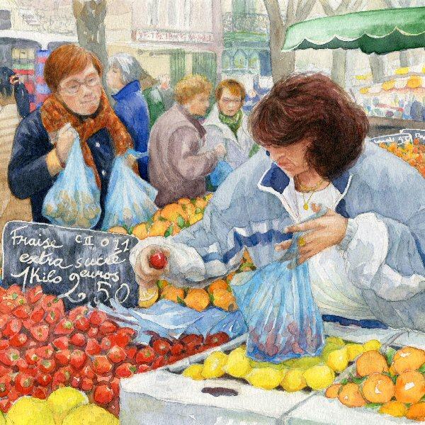 Strawberries in Winter, Lezignan