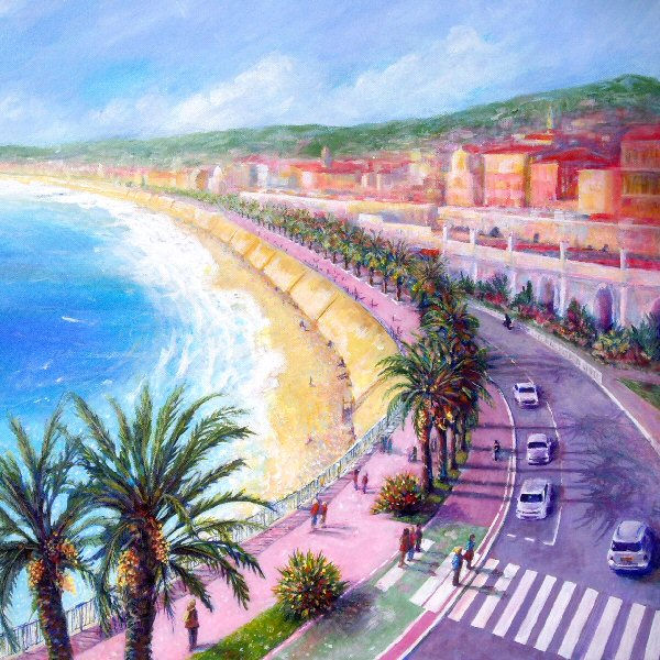 Baie des Anges in Winter