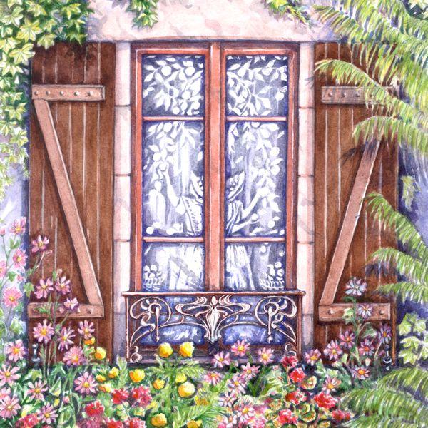 Brittany Window 2