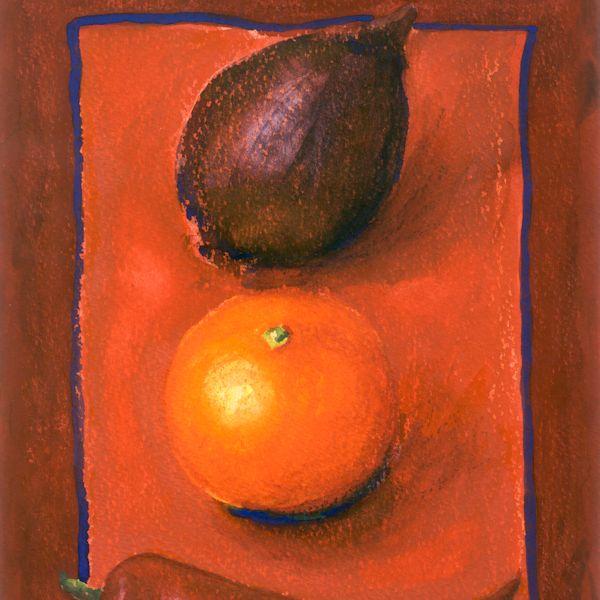 Onion Orange Chilli