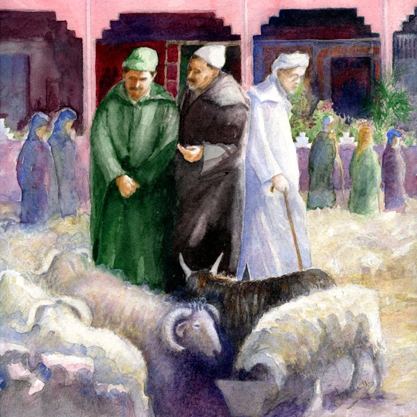 Haggling over Sheep, Tafraoute